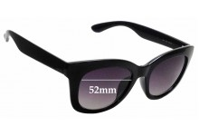 Sunglass Fix Sunglass Replacement Lenses for Kenneth Cole Reaction 2768 - 52mm Wide