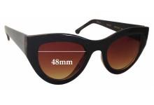 Sunglass Fix Sunglass Replacement Lenses for Komono The Phoenix - 48mm Wide