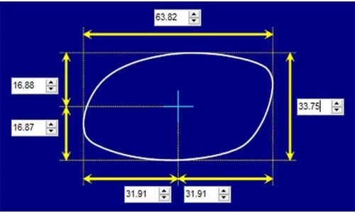 Sunglass Fix Sunglass Replacement Lenses for Killer Loop KL3123 B-Sheen - 64mm Wide