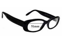 Sunglass Fix Sunglass Replacement Lenses for Laura Biagiotti LB 85103 - 51mm Wide