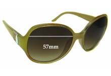 Sunglass Fix Sunglass Replacement Lenses for Laura Biagiotti LBK013 - 57mm Wide