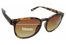 Sunglass Fix Sunglass Replacement Lenses for Locello 342E - 54mm Wide