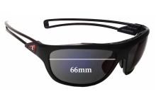 Sunglass Fix Sunglass Replacement Lenses for Louis Vuitton Cup Z0477U - 66mm Wide