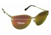 Sunglass Fix Sunglass Replacement Lenses for Louis Vuitton Dali Z0824U - 59mm Wide