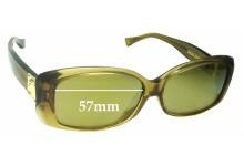 Sunglass Fix Sunglass Replacement Lenses for Louis Vuitton Z0003E - 57mm Wide