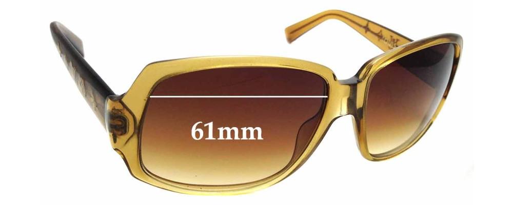 2b3cc377d6f9 Sunglass Fix Sunglass Replacement Lenses for Louis Vuitton Z0025W - 61mm  wide