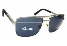 Sunglass Fix Sunglass Replacement Lenses for Louis Vuitton Z0260U - 62mm Wide