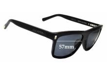 Sunglass Fix Sunglass Replacement Lenses for Louis Vuitton Z0698E - 57mm Wide