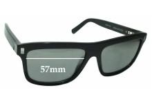 Sunglass Fix Sunglass Replacement Lenses for Louis Vuitton Z0698W - 57mm Wide