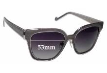 Sunglass Fix Sunglass Replacement Lenses for Louis Vuitton Z0813U - 53mm Wide
