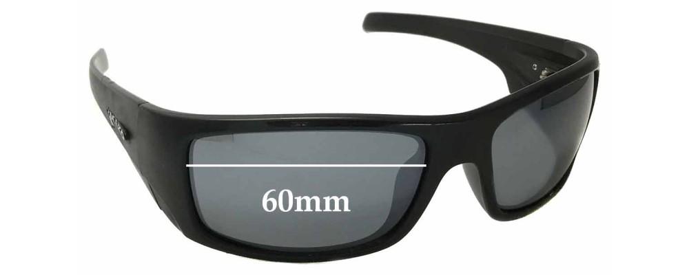 873539a6c06 Sunglass Fix Sunglass Replacement Lenses for Mako 9578 Indestructible -  60mm Wide