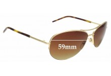 Sunglass Fix Sunglass Replacement Lenses for Marc By Marc Jacobs MMJ 61/S - 59mm Wide