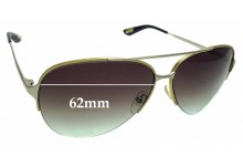 Sunglass Fix Sunglass Replacement Lenses for Marc by Marc Jacobs MJ 308/S - 62mm Wide