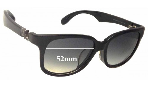 Sunglass Fix Sunglass Replacement Lenses for MARC BY MARC JACOBS MMJ 283/F/S - 52mm Wide