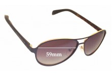 Sunglass Fix Sunglass Replacement Lenses for Marc by Marc Jacobs MMJ 454/S - 59mm Wide