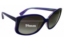 Sunglass Fix Sunglass Replacement Lenses for Marc by Marc Jacobs MMJ 147/F/S - 59mm Wide