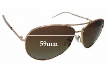 Sunglass Fix Sunglass Replacement Lenses for Marc by Marc Jacobs 59/S - 59mm Wide