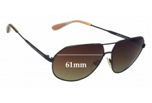 Sunglass Fix Sunglass Replacement Lenses for Marc by Marc Jacobs MMJ 260/S - 61mm Wide