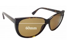 Sunglass Fix Sunglass Replacement Lenses for Marc by Marc Jacobs MMJ 128/S - 60mm Wide