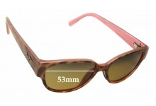 Sunglass Fix Sunglass Replacement Lenses for Maui Jim Anini Beach MJ269 - 53mm Wide