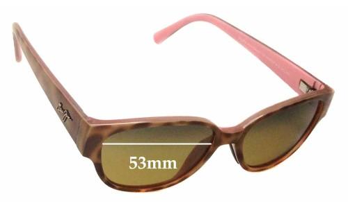 Sunglass Fix Sunglass Replacement Lenses for Maui Jim Anini Beach MJ269 - 53mm wide