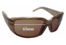 Sunglass Fix Sunglass Replacement Lenses for Maui Jim Blue Water MJ236 - 63mm Wide