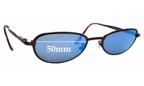 Sunglass Fix Sunglass Replacement Lenses for Maui Jim Captain MJ130 - 50mm wide