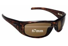 Sunglass Fix Sunglass Replacement Lenses for Maui Jim Dorado MJ259 - 67mm Wide