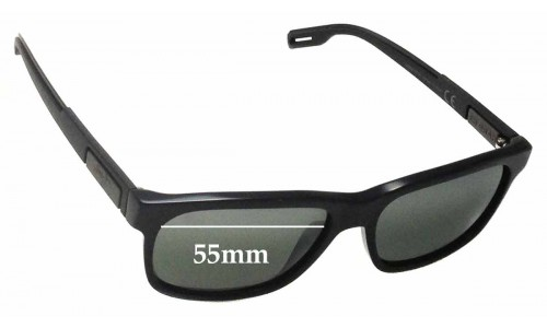 Sunglass Fix Sunglass Replacement Lenses for Maui Jim Eh Brah MJ284 - 55mm Wide