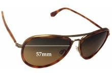 Sunglass Fix Sunglass Replacement Lenses for Maui Jim Honomanu MJ260 - 57mm Wide
