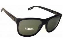 Sunglass Fix Sunglass Replacement Lenses for Maui Jim Howzit MJ734 - 56mm Wide