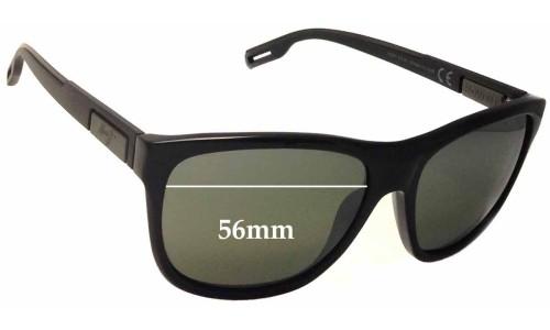 Sunglass Fix Sunglass Replacement Lenses for Maui Jim Howzit MJ734 - 56mm wide