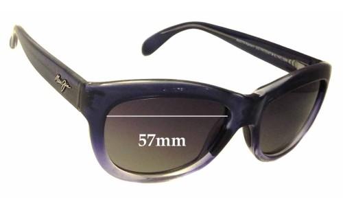 Sunglass Fix Sunglass Replacement Lenses for Maui Jim MJ270 Kanani - 57mm Wide