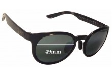 Sunglass Fix Sunglass Replacement Lenses for Maui Jim Keanae MJ420 - 49mm Wide