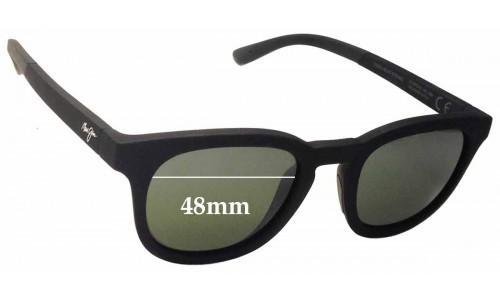 Sunglass Fix Sunglass Replacement Lenses for Maui Jim Koko Head MJ737 - 48mm Wide