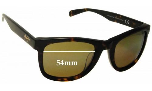 Sunglass Fix Sunglass Replacement Lenses for Maui Jim MJ293 Legends - 54mm Wide