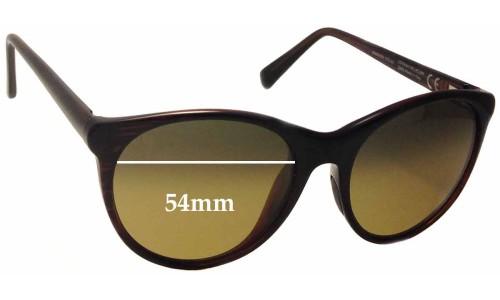 Sunglass Fix Sunglass Replacement Lenses for Maui Jim MJ704 Mannikin - 54mm Wide