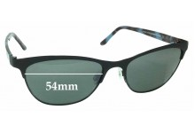 Sunglass Fix Sunglass Replacement Lenses for Maui Jim MJ729 Popoki - 54mm Wide