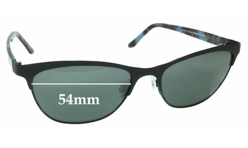 Sunglass Fix Sunglass Replacement Lenses for Maui Jim MJ729 Popoki STG-BG - 54mm Wide