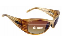 Sunglass Fix Sunglass Replacement Lenses for Maui Jim MJ134 Hibiscus - 61mm Wide