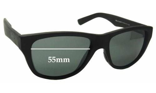 Sunglass Fix Sunglass Replacement Lenses for Maui Jim MJ209 - 55mm Wide