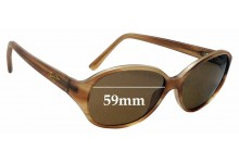 Sunglass Fix Sunglass Replacement Lenses for Maui Jim MJ221 Ginger - 59mm Wide