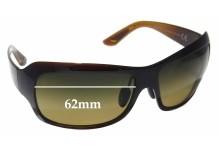 Sunglass Fix Sunglass Replacement Lenses for Maui Jim MJ418 Seven Pools - 62mm Wide