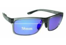 Sunglass Fix Sunglass Replacement Lenses for Maui Jim MJ439 Pokowai Arch - 58mm Wide