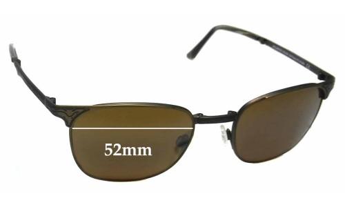 Sunglass Fix Sunglass Replacement Lenses for Maui Jim MJ706 Stillwater STG-BG - 52mm Wide
