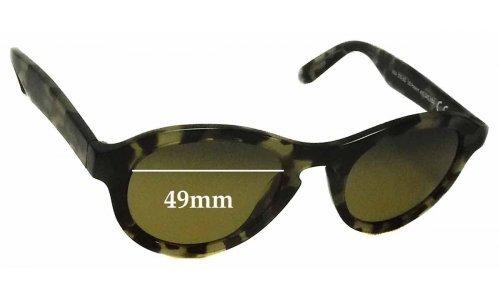 Sunglass Fix Sunglass Replacement Lenses for Maui Jim Leia MJ708 - 49mm wide