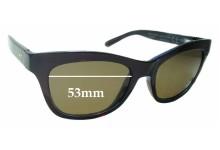 Sunglass Fix Sunglass Replacement Lenses for Maui Jim Sweet Leilani MJ722 - 53mm Wide