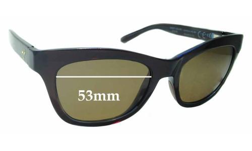 Sunglass Fix Sunglass Replacement Lenses for Maui Jim Sweet Leilani STG-BG MJ722 - 53mm wide