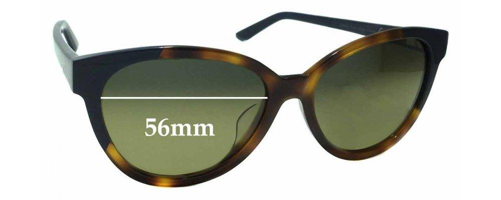 Sunglass Fix Sunglass Replacement Lenses for Maui Jim MJ725 Sunshine - 56mm Wide