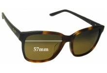 Sunglass Fix Sunglass Replacement Lenses for Maui Jim MJ726 Moonbow - 57mm Wide